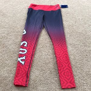 New! Forever collectibles small Red Sox leggings